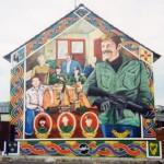 Irish Volunteers At Breakfast - Divismore Way, 2001